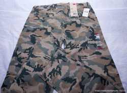 "Джинсы мужские ""Levi's Camo Regular Fit Chino green camouflage"".  2"