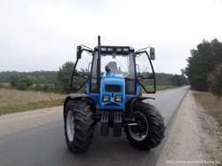 Экспортный б/у трактор 2007 года выпуска Беларус Мтз Pronar 82 A