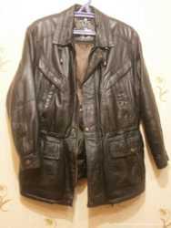 Куртка мужская MORENA Leather Fashion, натур кожа 3