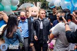 Как организовать встречу из роддома до дома во время карантина Одесса 2