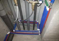 Водопровод, канализация. Пайка труб. Новострой. Установка сантехники. 2