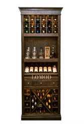 Шкаф деревянный для вина Тироль 1