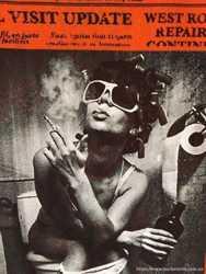 Футболка Sonny Bono p.48 (p.L). Газетка в стиле John Galliano. Италия. 3