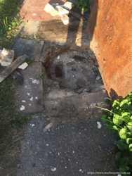 Копка канализации в частном доме