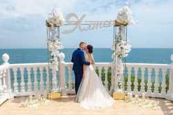 Организация  фантастических  свадеб  и выездных церемоний в Ялте, Крыму.  2