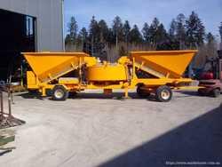 Мобильный бетонный завод Sumab LT 1200 (40 м3/час) Швеция 1