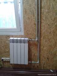 Установка радиаторов (батарей) отопления запорожье