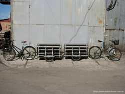 Прицеп под велосипед или скутер