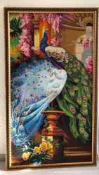 Картина Пара павлинов