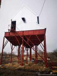 Будівництво комплексів ЗАВ, КЗС для обробки зерна