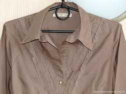 Замечательная блуза из натуральной ткани, М, р.48-50 2
