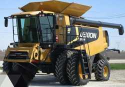 Комбайн Cat Lexion 570R 1