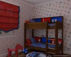 Двоярусне дитяче ліжко Альфа  2