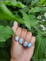 Маникюр наращивание ногтей