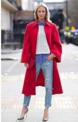 Пальто,женское , кашемир , цвет красный и подарю платье 1