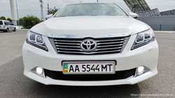 152 Toyota Camry V50 белая прокат авто  2