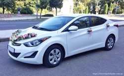168 Hyundai Elantra белая прокат авто 1