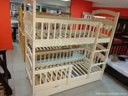 Двухъярусная кровать Карина-Люкс Трио 3