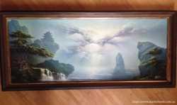 Продам картину с объемными рельефными элементами.