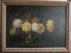 Картина Хризантемы (Германия, Мюнхенская школа), 1940