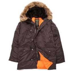"""Супер теплые стильные зимние куртки - легендарная модель N-3B """"Аляска"""" от Alpha Industries Inc. USA 2"""