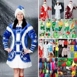 Дед мороз, снегурочка, карнавальные костюмы. 3