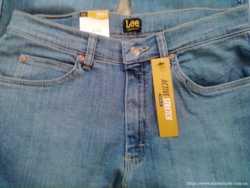 Продам фирменые джинсы LEE Men's Regular Fit Straight Leg Jean. 2