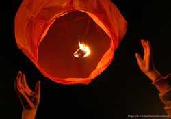 Небесные фонарики 20 грн, купить оптом, кутайские летающие фонарики 2