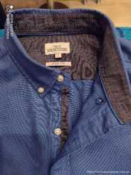 Рубашка мужская Next. Новая. Коттон, очень плотный. Размер L (50-52) 2