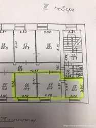 Аренда офиса ул. Канатная, 52 кв м, 3 кабинета.                          2