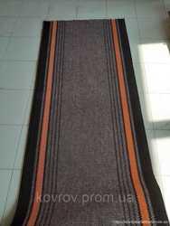 Ковровая дорожка Saba Елана '' Дарничанка''(коричневая)0,6;0,7;0,8; 0,