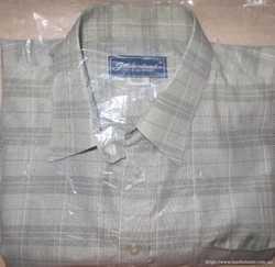 Мужская рубашка Goldenland 43 с коротким рукавом новая 1