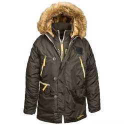 """Новая модель легендарной куртки N-3B """"Аляска"""" - N-3B Inclement Parka от Alpha Industries Inc. USA 2"""