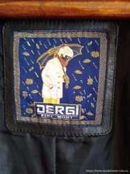Кожаная куртка фирмы Dergi для девушки 3