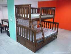 Трехспальная кровать Жасмин 1