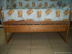 Детская кроватка с ящиком 3