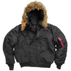 Куртки Аляска короткие Alpha Industries N-2B Parka (США) 3