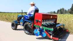 cеялка зерновая тракторная сеялка дисковая на ЮМЗ МТЗ Т25 Т40 1