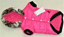 Модная курточка для собаки с капюшоном размер Xxl с ярлыками