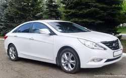 166 Hyundai Sonata белая NEW прокат авто 2