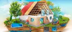 Строительство частных домов, коттеджей, дач, промышленных зданий