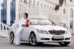 """Кабриолеты """"Camaro"""" и """"Mercedes"""" на свадьбу в Ялте,Севастополе,Крыму."""