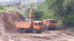 Перевозка песка щебня шлака вывоз мусора