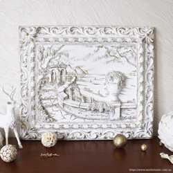 Картина панно Италия. Набережная