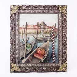 Картина панно Венеция. Причал