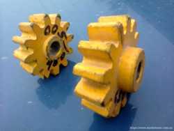 Шестерни для китайских бетоно, -растворомешалок. Оригинал. 2