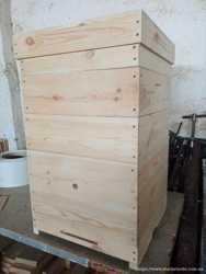 Улей, улья, вулик для пчел, 10 і 12 рамочний корпусний, бджоли