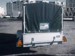Легковий автопричеп Євро А750 210-130 3