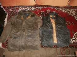 Куртка демисезонная мужская, натур кожа 3