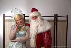 Дед Мороз и Снегурочка. Тамада. Клоуны. Шоу мыльных пузырей. МОСКВА и МО. 2